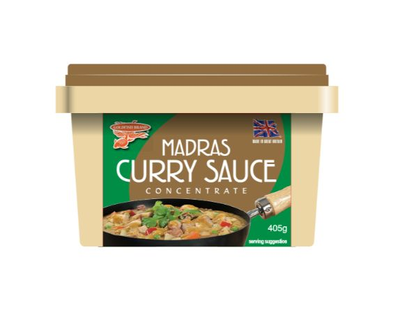 Goldfish Madras Curry Paste