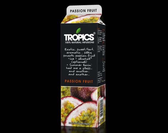Tropics 100% Natural Infusions- Passionfruit