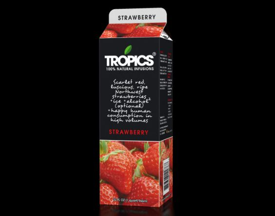 Tropics 100% Natural Infusions~ Strawberry